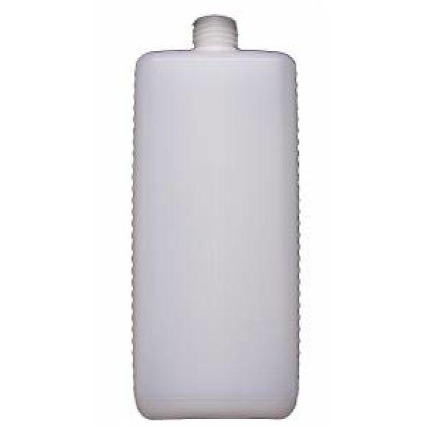 Euroflasche als Leerflasche mit Verschluss und Dosierpumpe