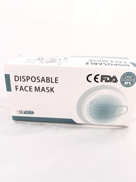 Einmal-Mund- Nasenschutz 3-lagig