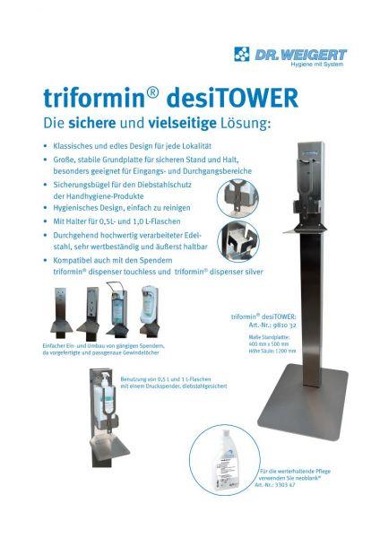 Triformin desiTOWER Desinfektionssäule