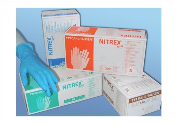 Nitrex-Untersuchungshandschuhe ungepudert